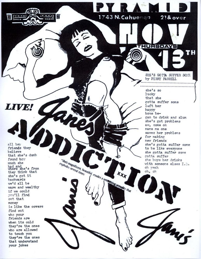 Bootlegging Jane's Addiction