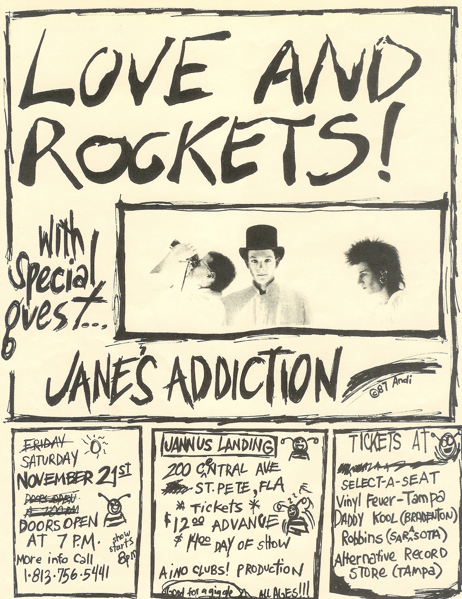 Janesaddiction Org Tour Info Jane S Addiction November