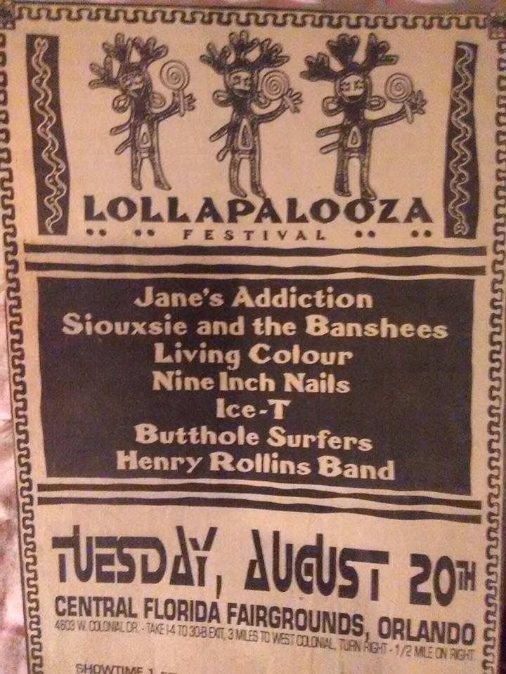 JanesAddiction.org Tour Info: Jane\'s Addiction - August 20, 1991 ...