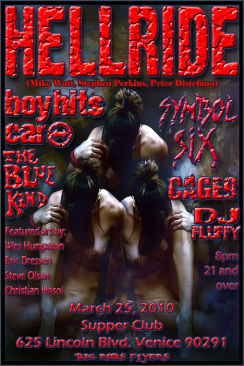 March 25, 2010 Hellride Poster