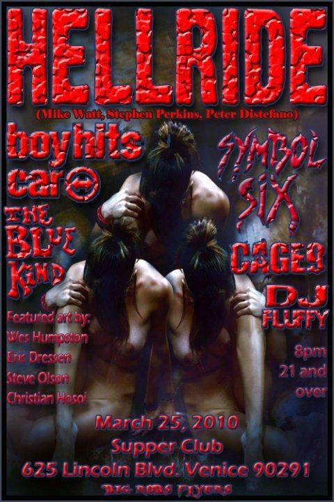 March 25, 2010 Hellride Poster