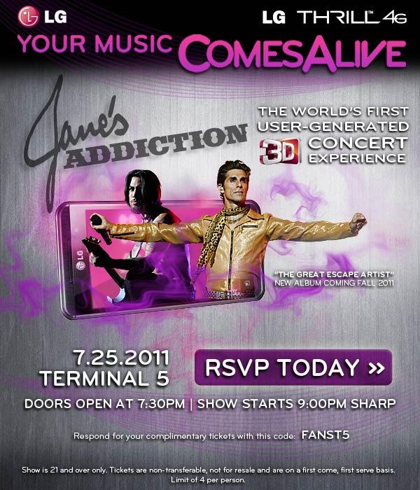 Jane's Addiction July 25, 2011