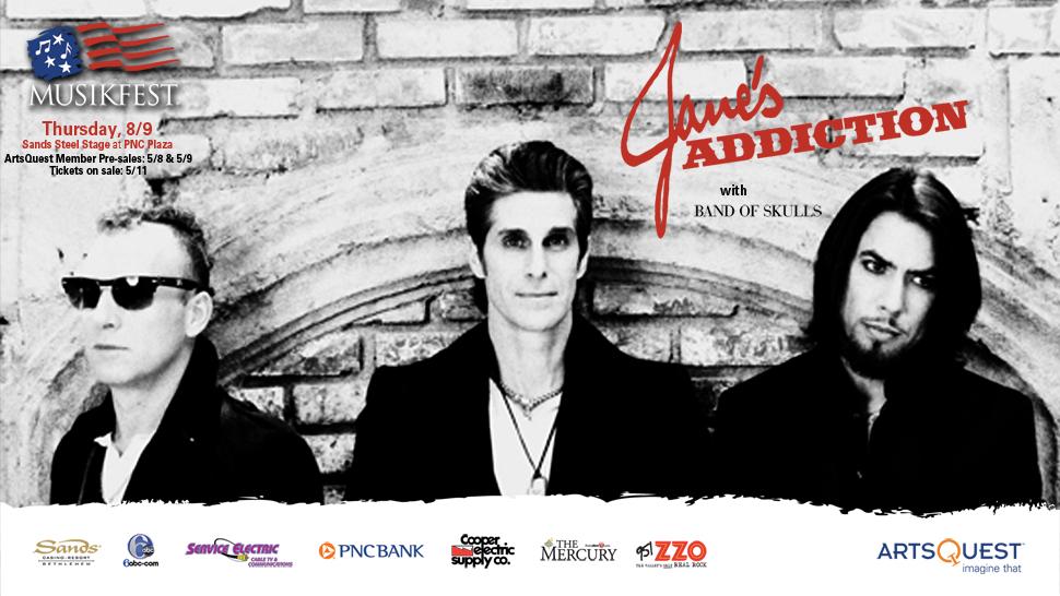 Jane's addiction tour dates in Brisbane