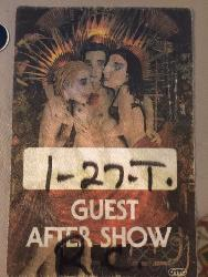 Aftershow Pass