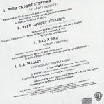 """Been Caught Stealing 12"""" CD Inside"""