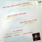 "Been Caught Stealing UK 12"" Vinyl Back"