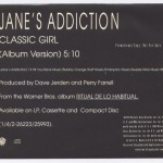 Classic Girl Promo Cover