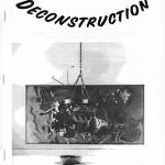 Deconstruction Artist Bio Cover