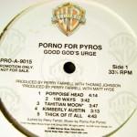 Good God's Urge Vinyl Promo Label