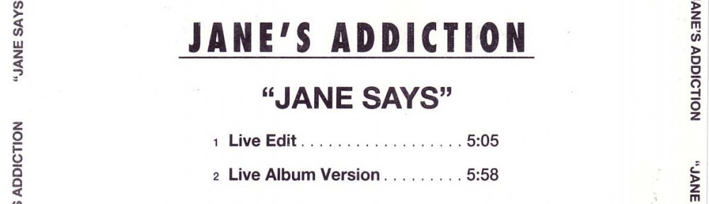 Jane Says (1997) U-Card