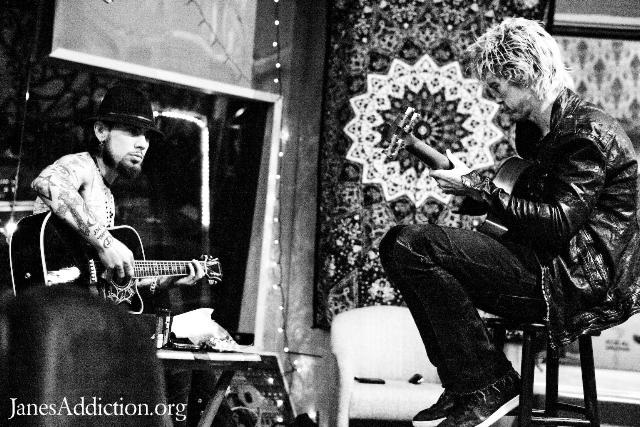 Jane's Addiction in the studio, March 2010