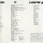 Jane's Addiction Liner Notes Part 1