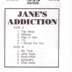 Jane's Addiction Poland Tape Inside