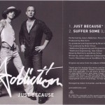 """Just Because 7"""" Front & Back"""