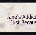 Just Because Promo VHS Spine