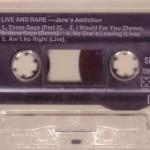 Cassette Sleeve Side 2
