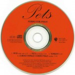 Pets Limited Editon CD Single Disc