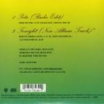 "Pets 7"" CD Single Back"