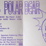 Polar Bear (Blue Vinyl) Inside