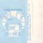 Porno For Pyros Polish Cassette Inside