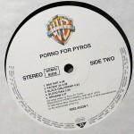 Porno For Pyros Black Vinyl Side 2