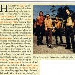 RHCP - Rolling Stone, May 28, 1998
