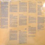 Ritual de lo Habitual 180 Gram Vinyl Insert Front