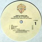 Ritual de lo Habitual Vinyl Side 1
