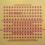 So What! Promo U-Card