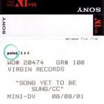 MiniDV Label