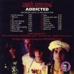 Addicted Disc 1 Back Cover