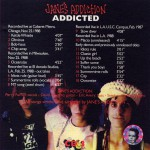 Addicted Disc 3 Back Cover