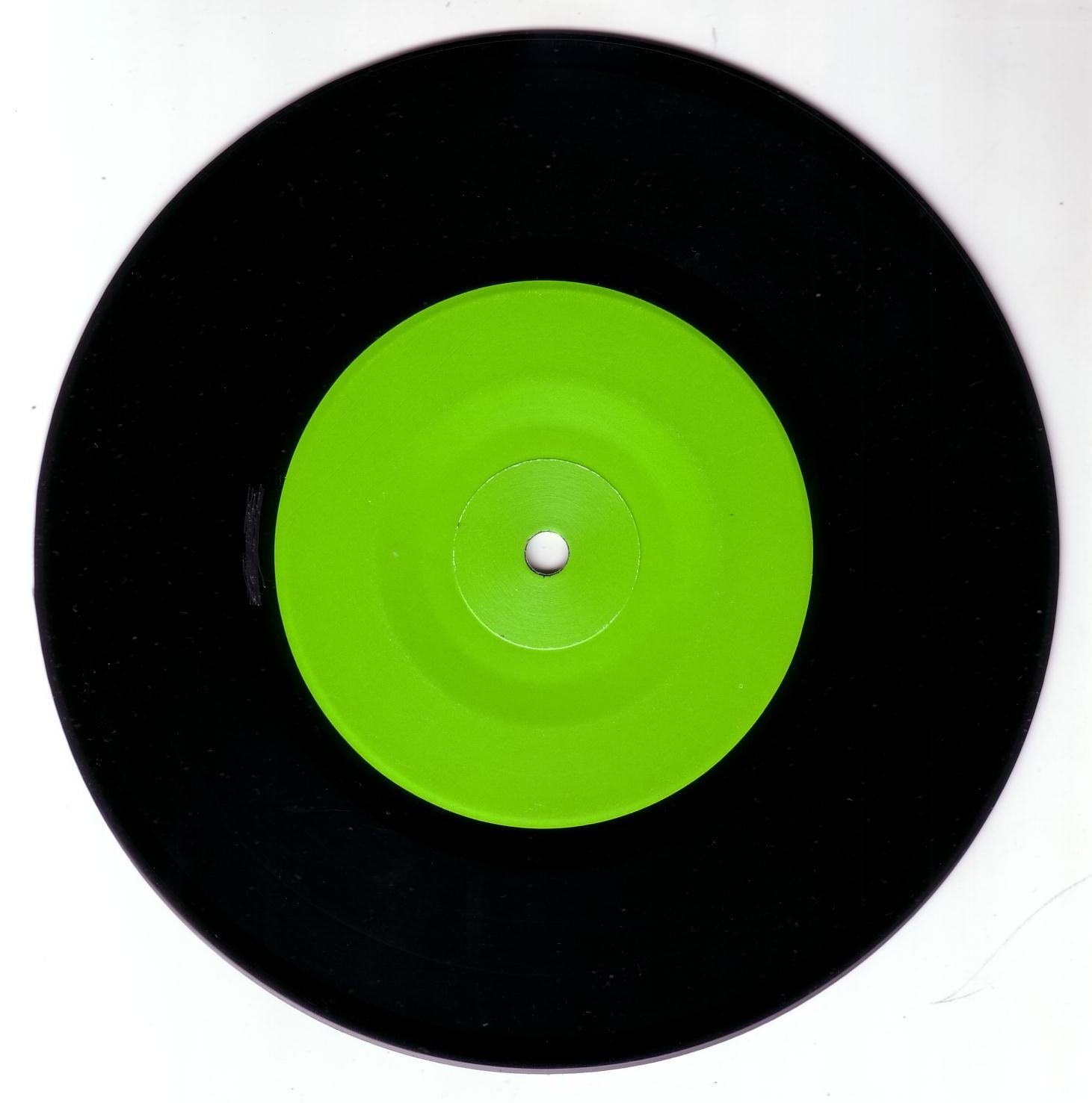 black vinyl green viny...
