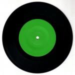 Early Symptoms Green Vinyl Label