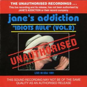 Idiots Rule (Vol. 2) Cover