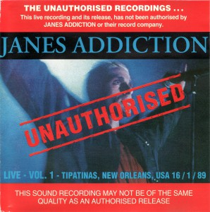 Jane's Addiction Love Vol. 1 Cover (v1)