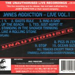 Jane's Addiction Love Vol. 1 U-Card (v1)