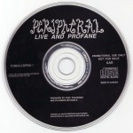 Live And Profane 2CD Disc 1