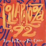 Lollapalooza 1992 Back Cover