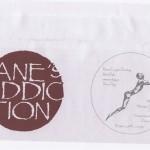 Untitled Red Vinyl Envelope