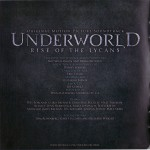 Underworld: Rise of the Lycans Back