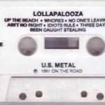Lollapalooza (Cassette) Side A
