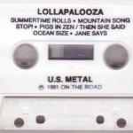 Lollapalooza (Cassette) Side B
