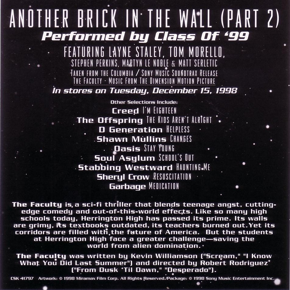 another brick in the wall Another brick in the wall july 20, 21, 26, 28 & 31   7:30 pm music hall original  words and music by roger waters operatic version composed by julien.
