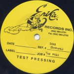 Monk With Gun Test Pressing Side 2