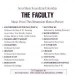 The Faculty Advance CD Cover