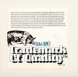 Trademark of Quality (1994) Cover